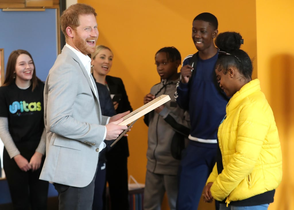 Prince Harry Makes a Solo Appearance Shortly After Announcing Plans For Baby Sussex