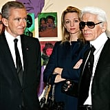 Kate at private exhibition of Andy Warhol Artwork