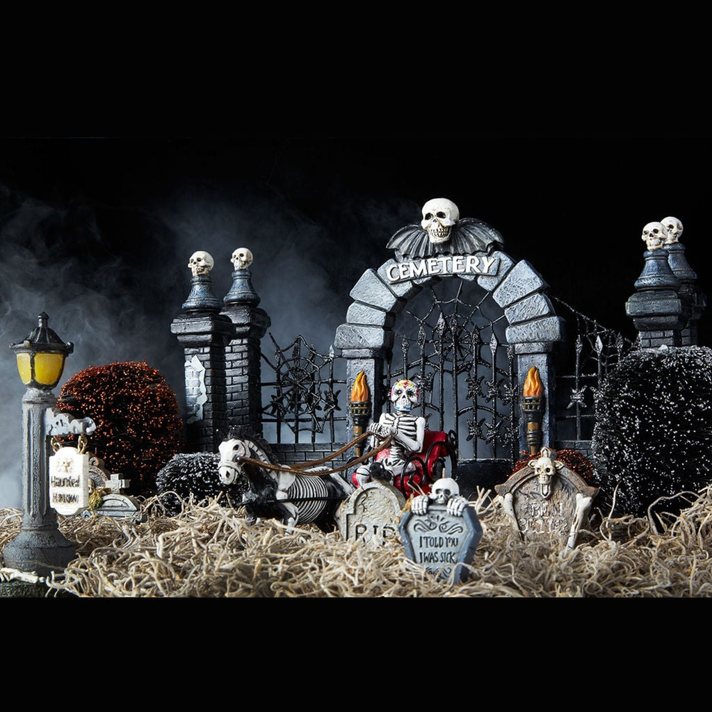 miniature halloween graveyard 2 10 michaels halloween decorations 2017 popsugar smart living photo 14 - Michaels Halloween Decorations