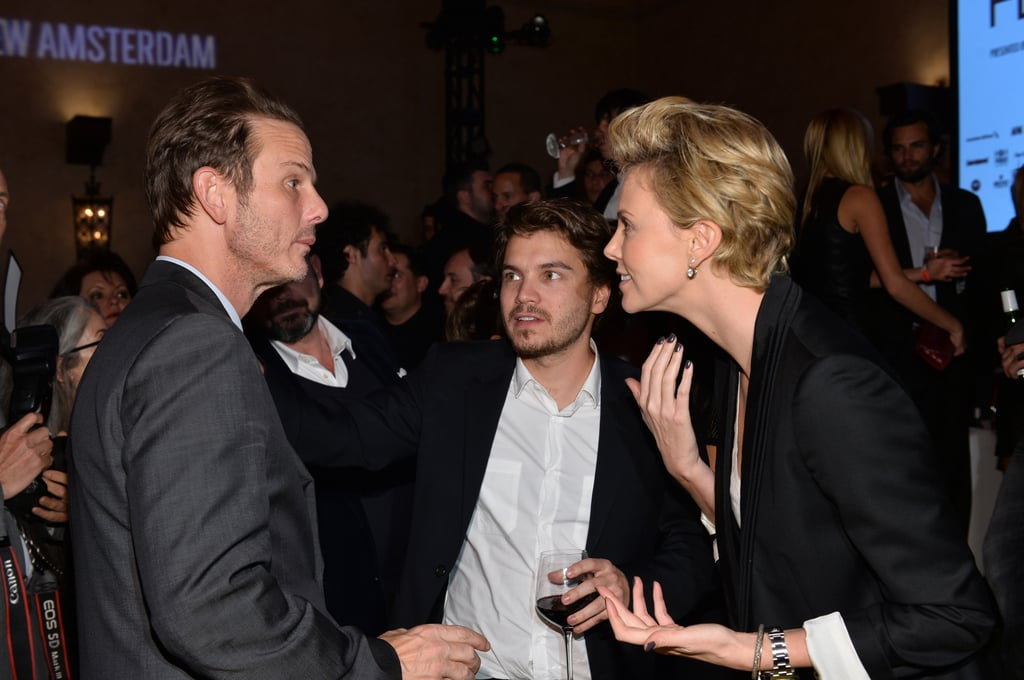 Charlize Theron Couldn't Wait to See Mark Wahlberg