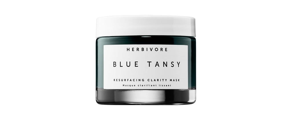 This Smurf-Blue Mask Will Transform the Texture of Your Skin