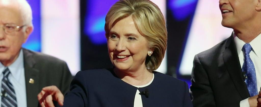 Hillary Clinton at the Democratic Debate (Video)