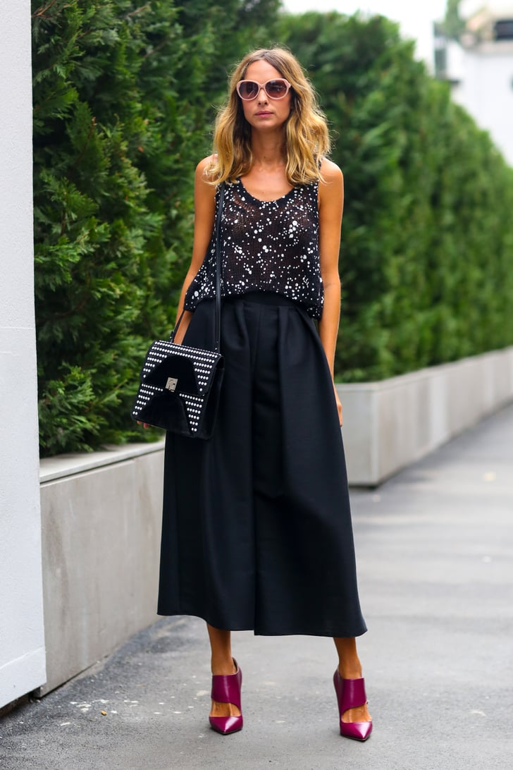 Mfw Street Style Day 2 Best Street Style At Fashion Week Spring 2015 Popsugar Fashion Photo 340
