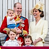 Prince Louis Wearing Harry's Outfit at Trooping the Colour