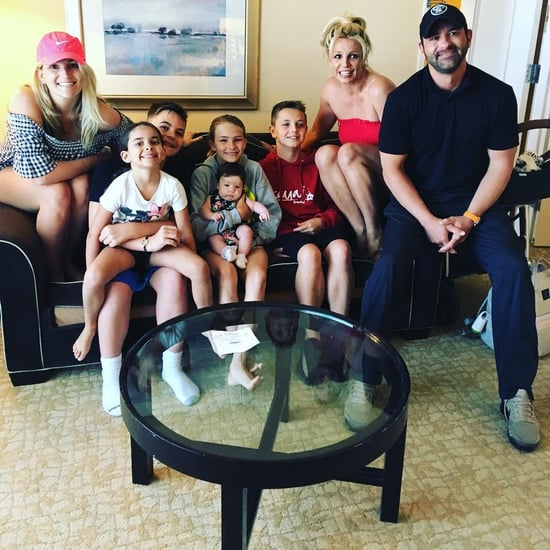 Britney Spears and Jamie Lynn Spears Family Photo June 2018