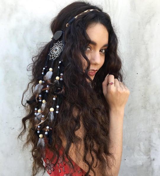Vanessa Hudgens Festival Hair