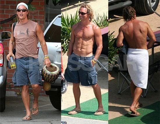 Jennifer Aniston And Brad Pitt Smoking