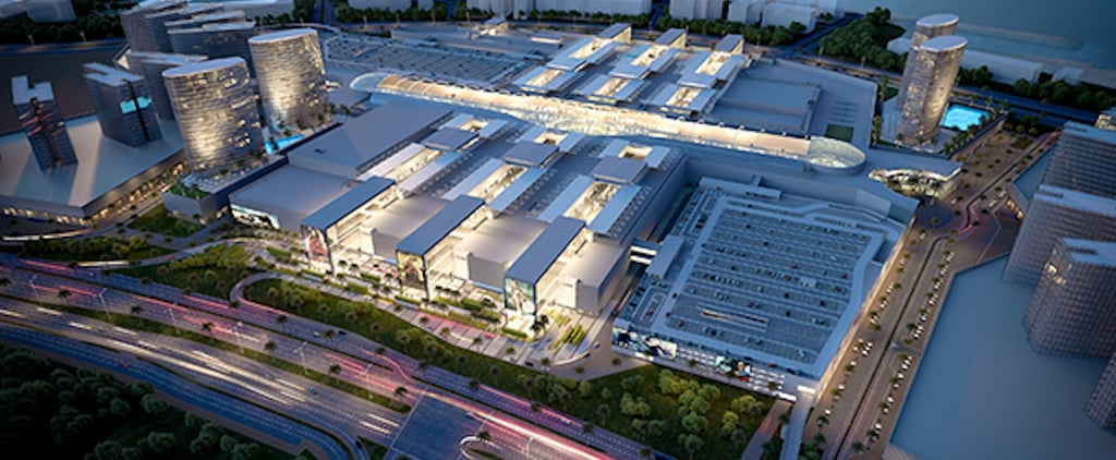 عند افتتاحه رسميّاً، سيكون ديرة مول أكبر مركز تجاريّ في الشرق الأوسط