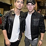 Joe Jonas and Nick Jonas