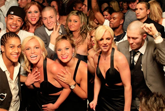 Britney Spears Partying in Dallas