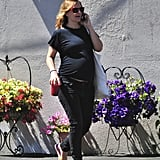 Pregnant Drew Barrymore Baby Bump Pictures