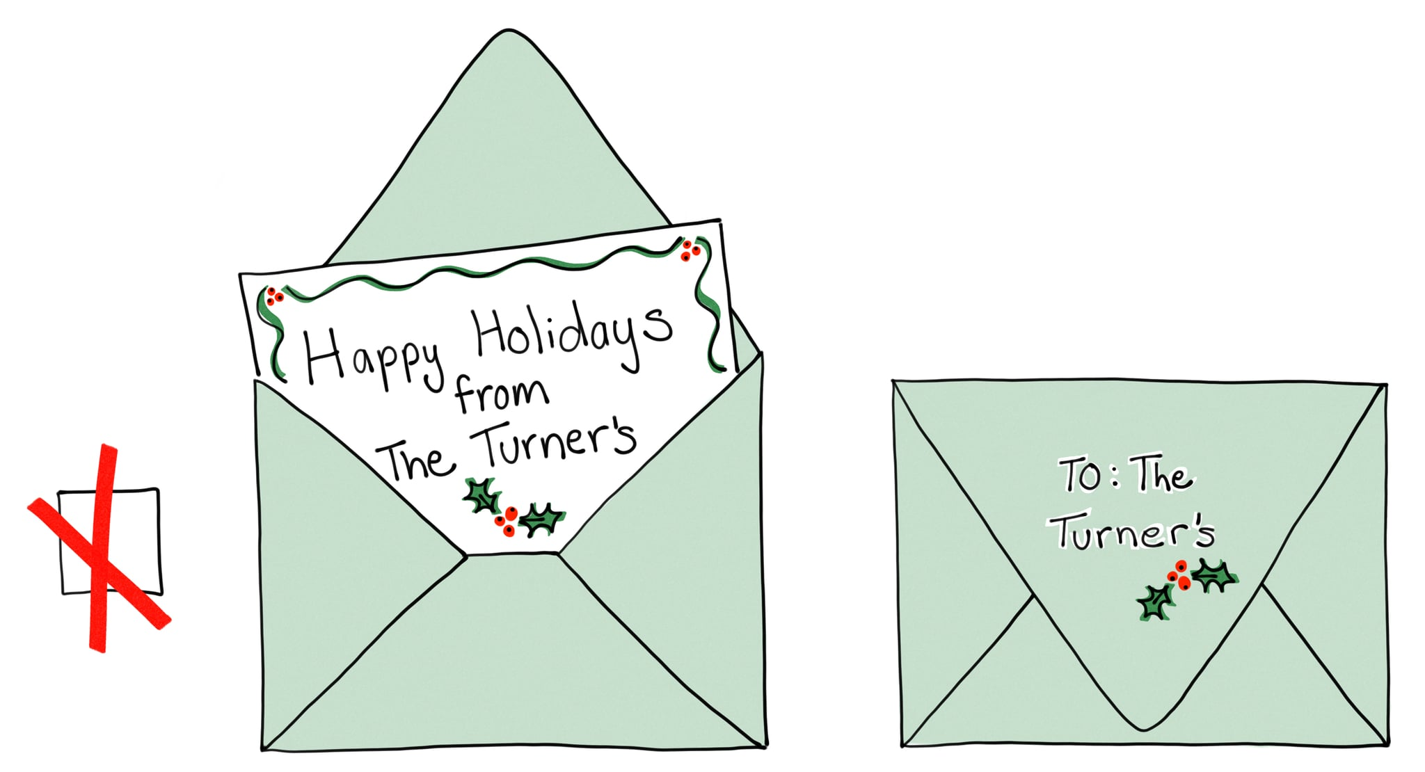 How To Make Last Names Plural On Holiday Cards Popsugar Family
