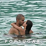 Eva Longoria and then-boyfriend Tony Parker escaped to St. Thomas for a romantic getaway in October 2005.