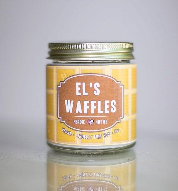 El's Waffles Candle