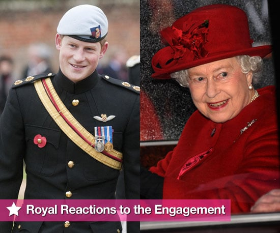 Quotes From Royal Family About Prince William and Kate Middleton's Engagement Including Prince Harry, Prince Charles, The Queen 2010-11-19 02:30:00