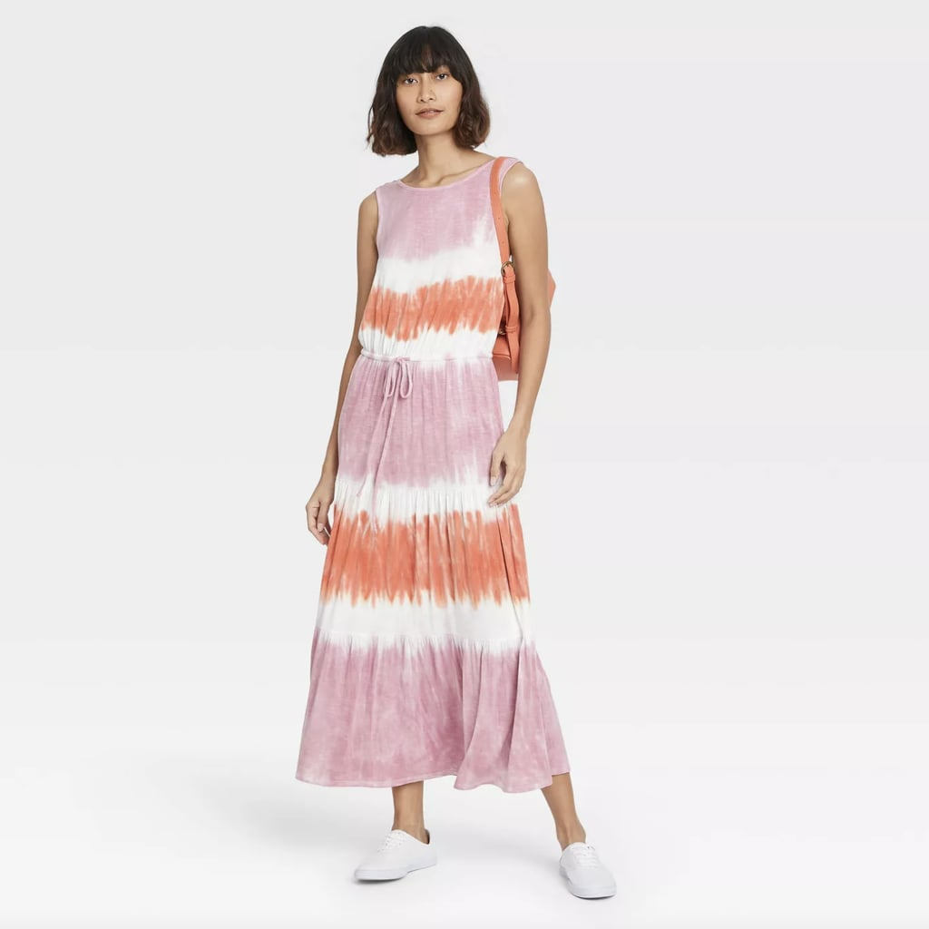 For a Tie Dye Treatment: Knox Rose Sleeveless Knit Dress