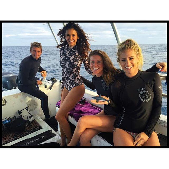 Nina Dobrev Hawaii Vacation Pictures 2016 Popsugar Celebrity