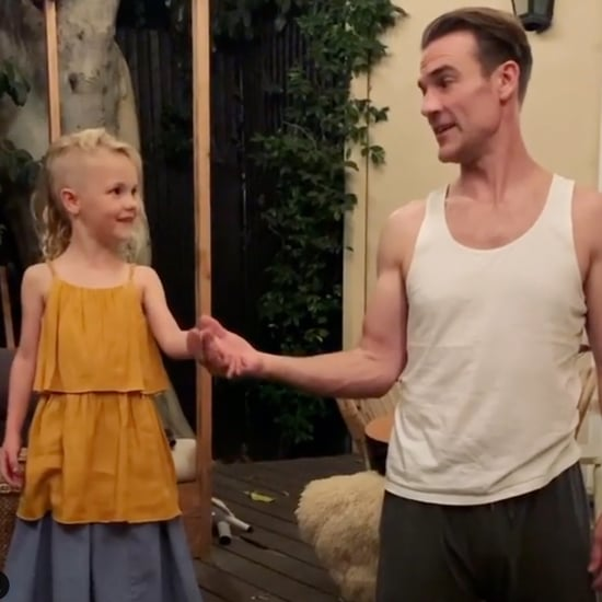 James Van Der Beek Dancing With Daughter Annabel Video