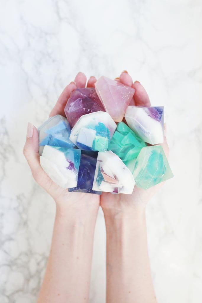 Gemstone Soap