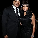 LL Cool J and Taraji P. Henson attended the Grammy tribute to Whitney Houston in LA.