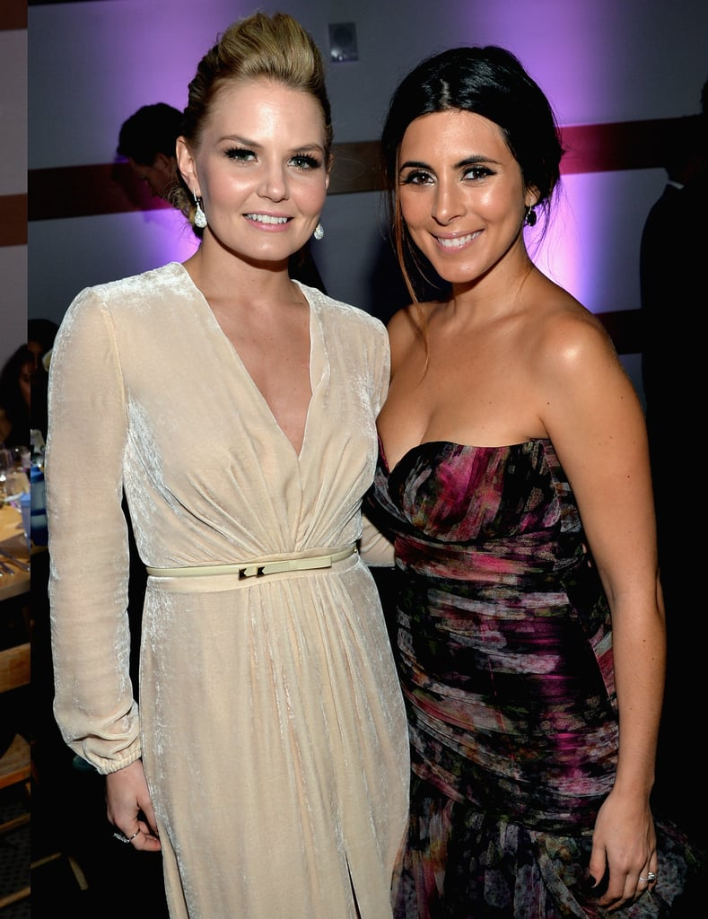 Jennifer Morrison and Jamie Lynn Sigler posed for photos together.