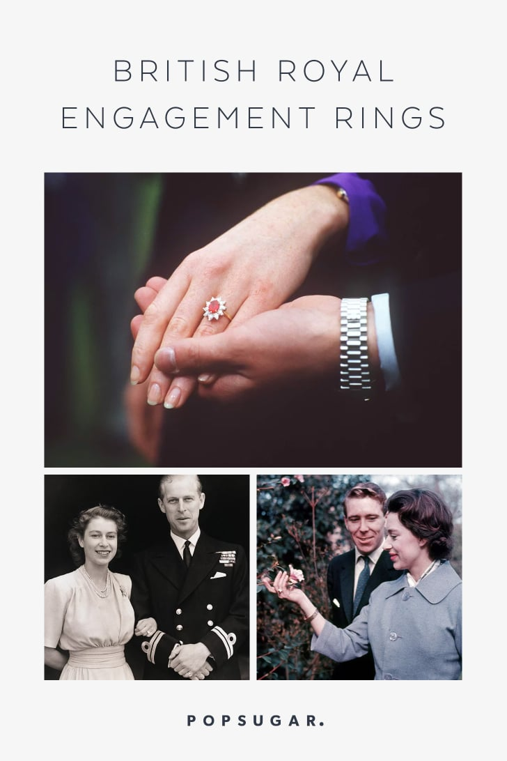 British Royal Engagement Rings Popsugar Fashion