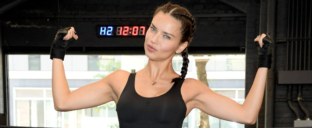 "Victoria's Secret Angel Adriana Lima Swears This Cardio Will ""Tone Your Body"""