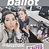 Jackie Cruz and Lucy Hale