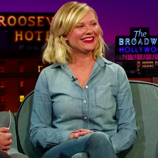 Kirsten Dunst Does a Bring It On Cheer on James Corden