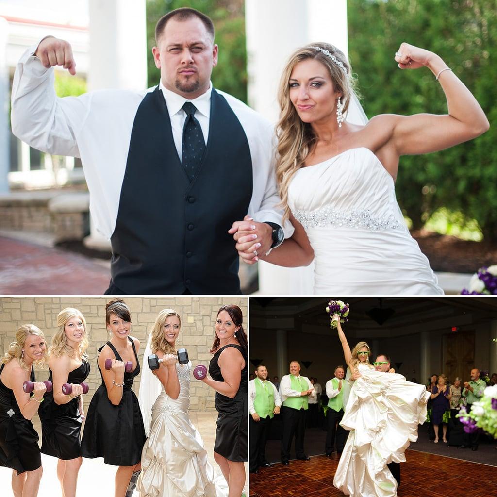 Fitness-Themed Wedding
