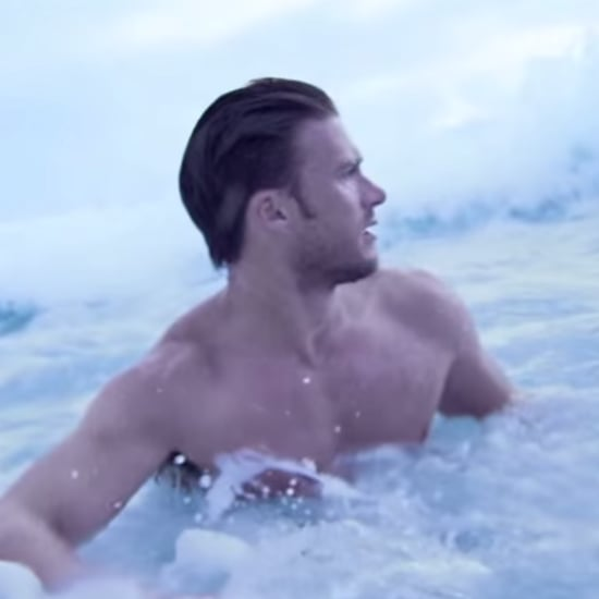Warning: You'll Need to Take a Breather After Watching Scott Eastwood Swim in His Jeans in This Sexy Cologne Ad