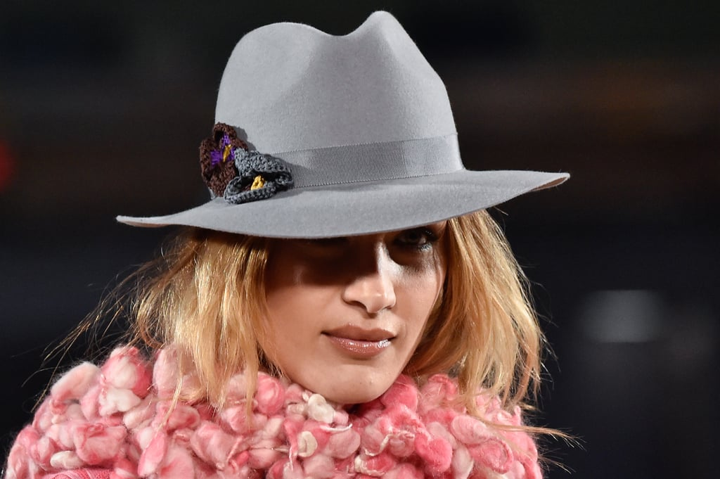 Bella Hadid in a Hat on the Marc Jacobs Runway During New York Fashion Week