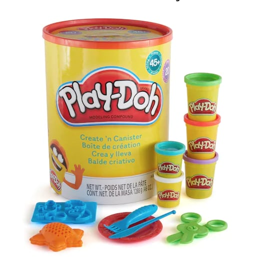 Play-Doh Create 'n Canister