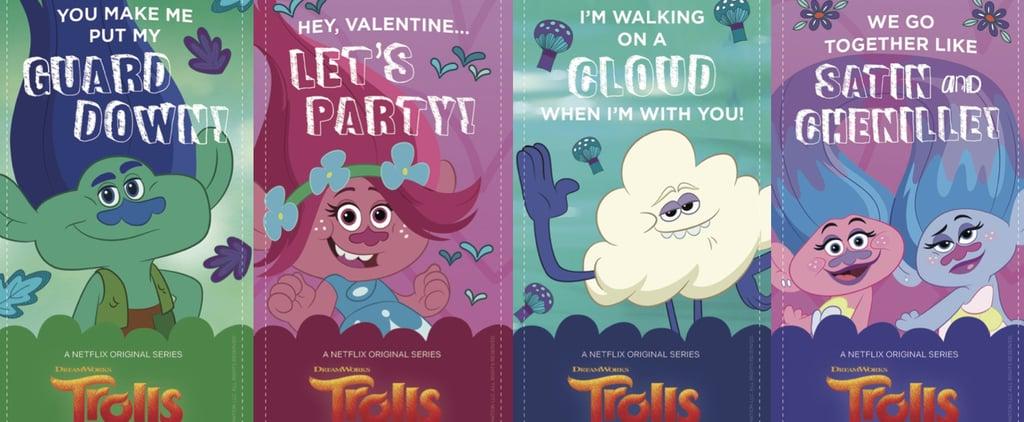 Free Printable Trolls Valentines