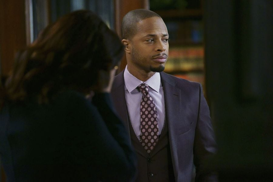 Yet another hot guy on Scandal? It's handled. (Bless you, Shonda Rhimes.) Actor Cornelius Smith Jr. plays Marcus Walker, the newest Gladiator at Olivia Pope Associates — and if you haven't noticed, he's pretty damn handsome. The 34-year-old star got his start on All My Children, and he's definitely captured the attention of Scandal fans everywhere. Keep reading for a look at some of his hottest moments on the show and on the red carpet, then stay in the Scandal spirit with a look at Scott Foley's Hollywood evolution.