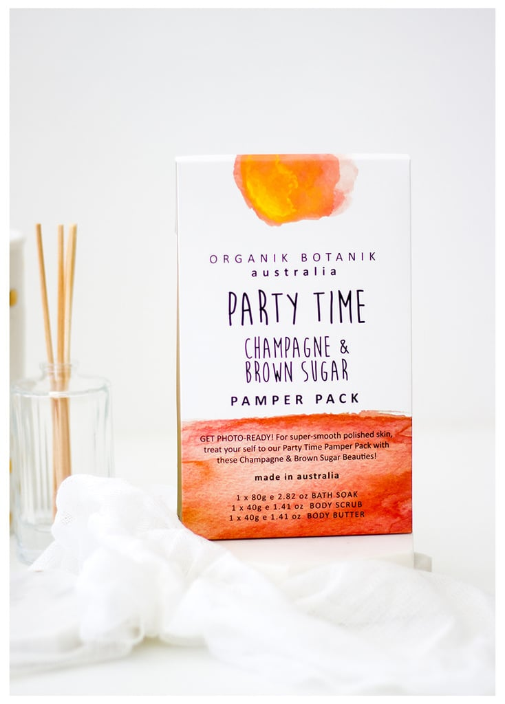 Party Time Champagne and Brown Sugar Pamper Pack, $14.95