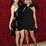 Pictured: Amber Valletta and Kate Moss