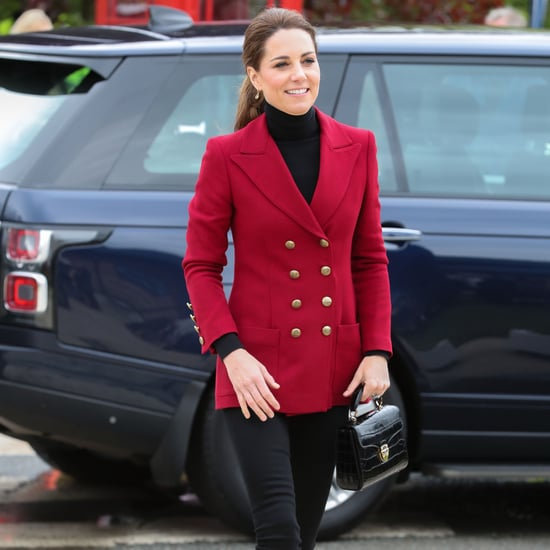 Kate Middleton Red Jacket May 2019