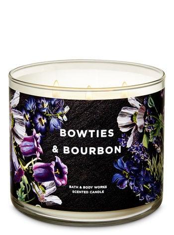 Bath & Body Works Bowties & Bourbon 3-Wick Candle