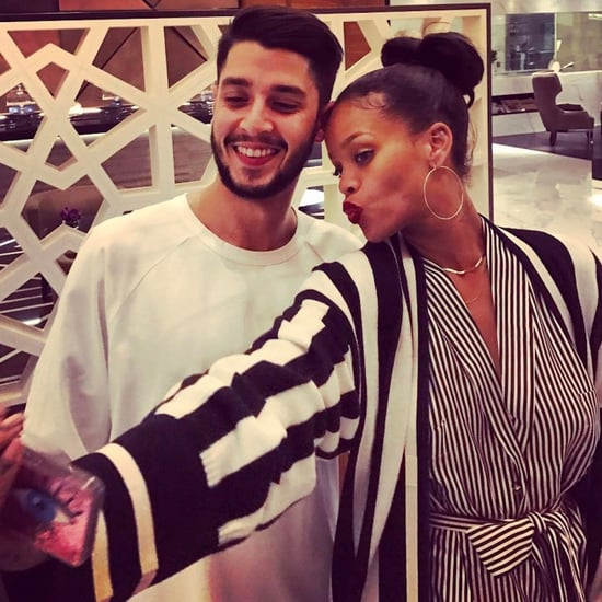 Rihanna Visits Miss Lily's Jamaican Restaurant in Dubai