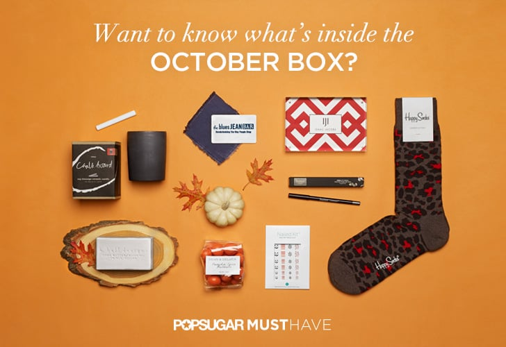 POPSUGAR Must Have October 2014 Box Reveal Contents