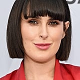 Rumer Willis With Blunt Bangs