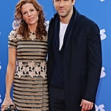 Blake Lively Supports Ryan Reynolds and Emma Stone at the Croods Premiere