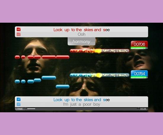 Queen Comes to Karaoke Game SingStar