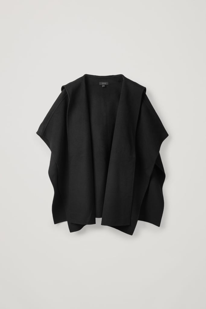 COS Wool-Mix Hooded Cape