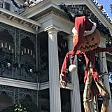 Haunted Mansion Holiday takes over the popular attraction.