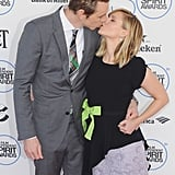17 Photos of Dax Shepard and Kristen Bell Kissing Like There's No Tomorrow
