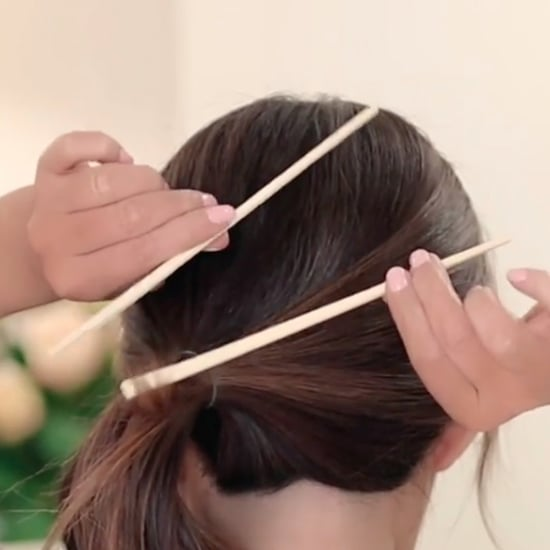 Messy French Twist Hair Hack