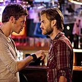 Joseph Morgan as Klaus and David Gallagher as Ray on The Vampire Diaries.  Photo courtesy of The CW