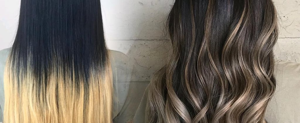 Hair Colour Corrections Before and After